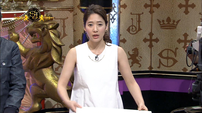 吉田明世アナ ノースリーブ サンデー・ジャポン