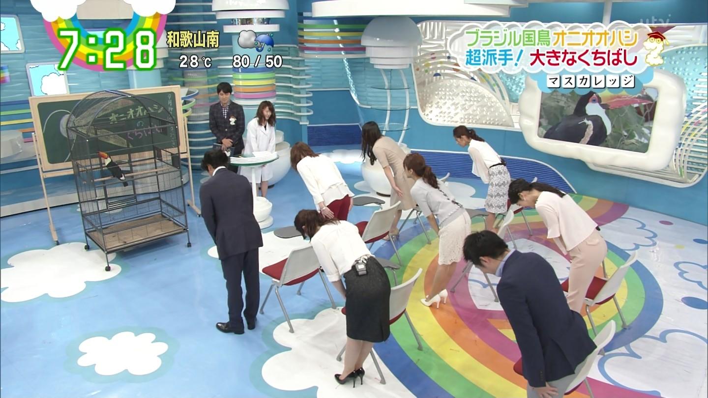 小熊美香、尾崎里紗、曽田茉莉江、北乃きい、團遥香 ZIP!