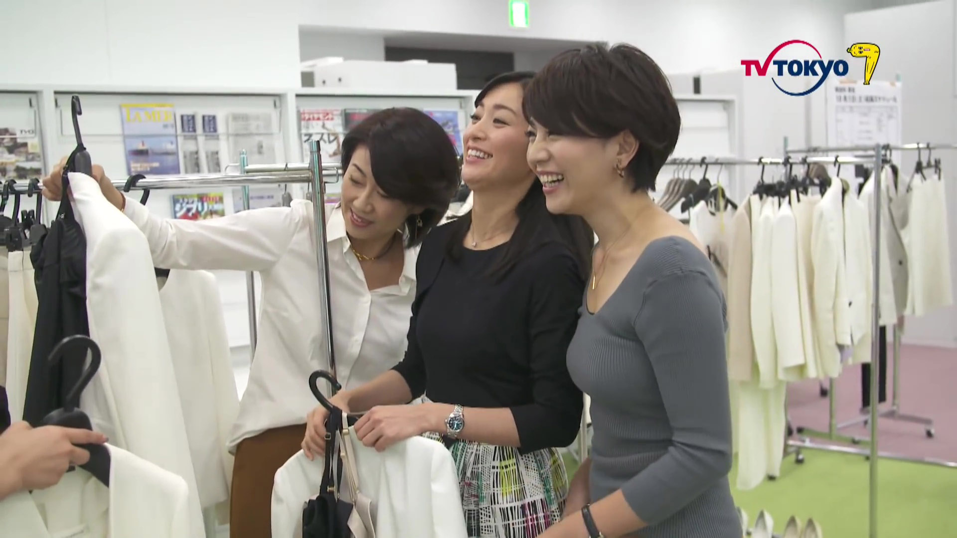 大橋未歩アナ 衣装選びでブラ透け!おっぱいクッキリ!!