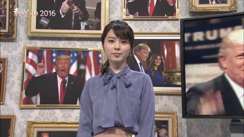 皆川玲奈アナ 報道の日2016 News23
