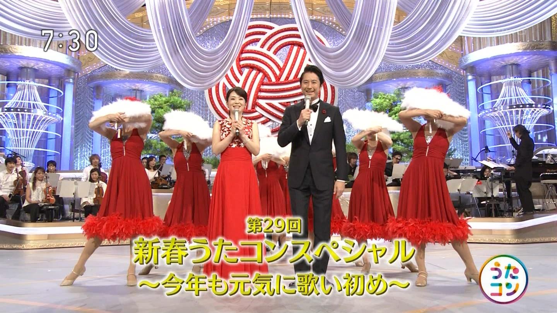 橋本奈穂子アナ うたコン NHKニュース7