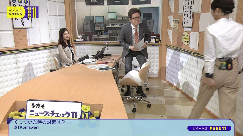 桑子真帆アナ ニュースチェック11