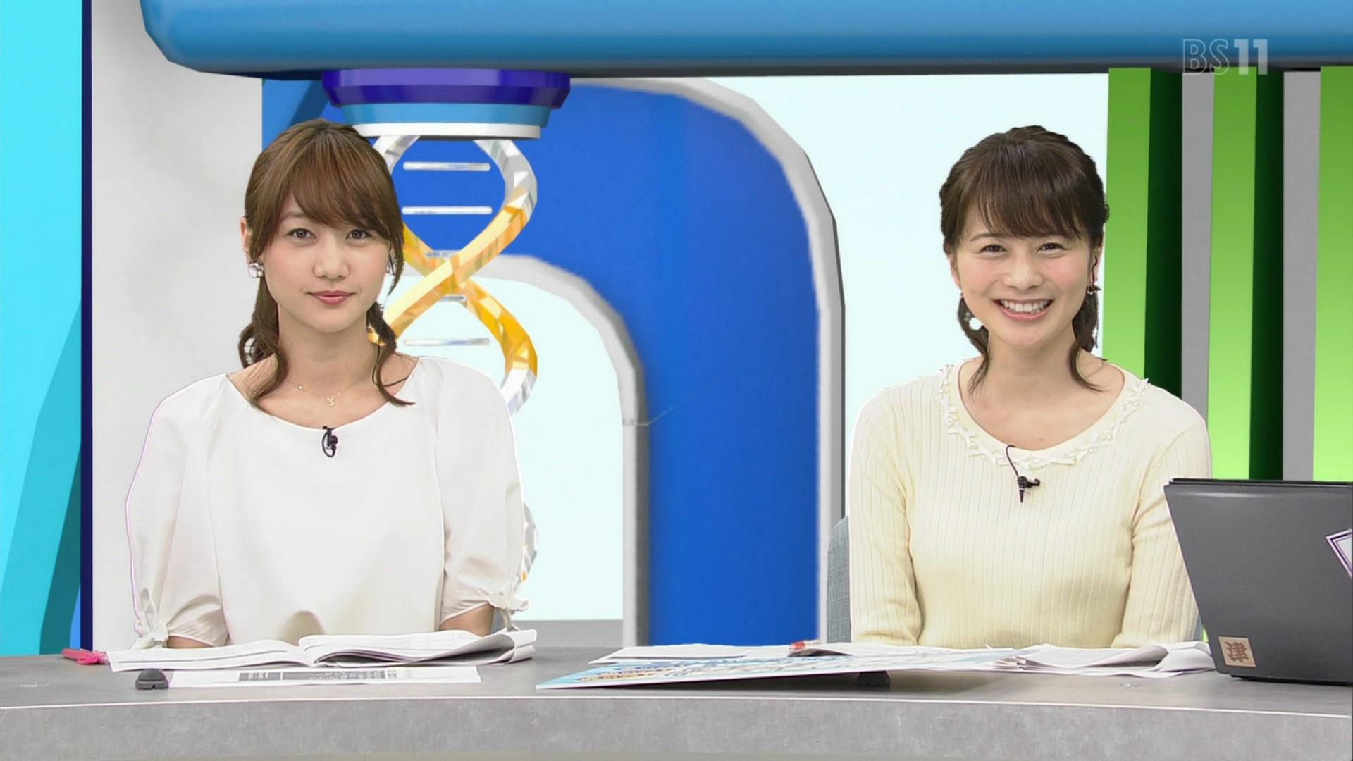 高見侑里アナと高田秋 BSイレブン競馬中継