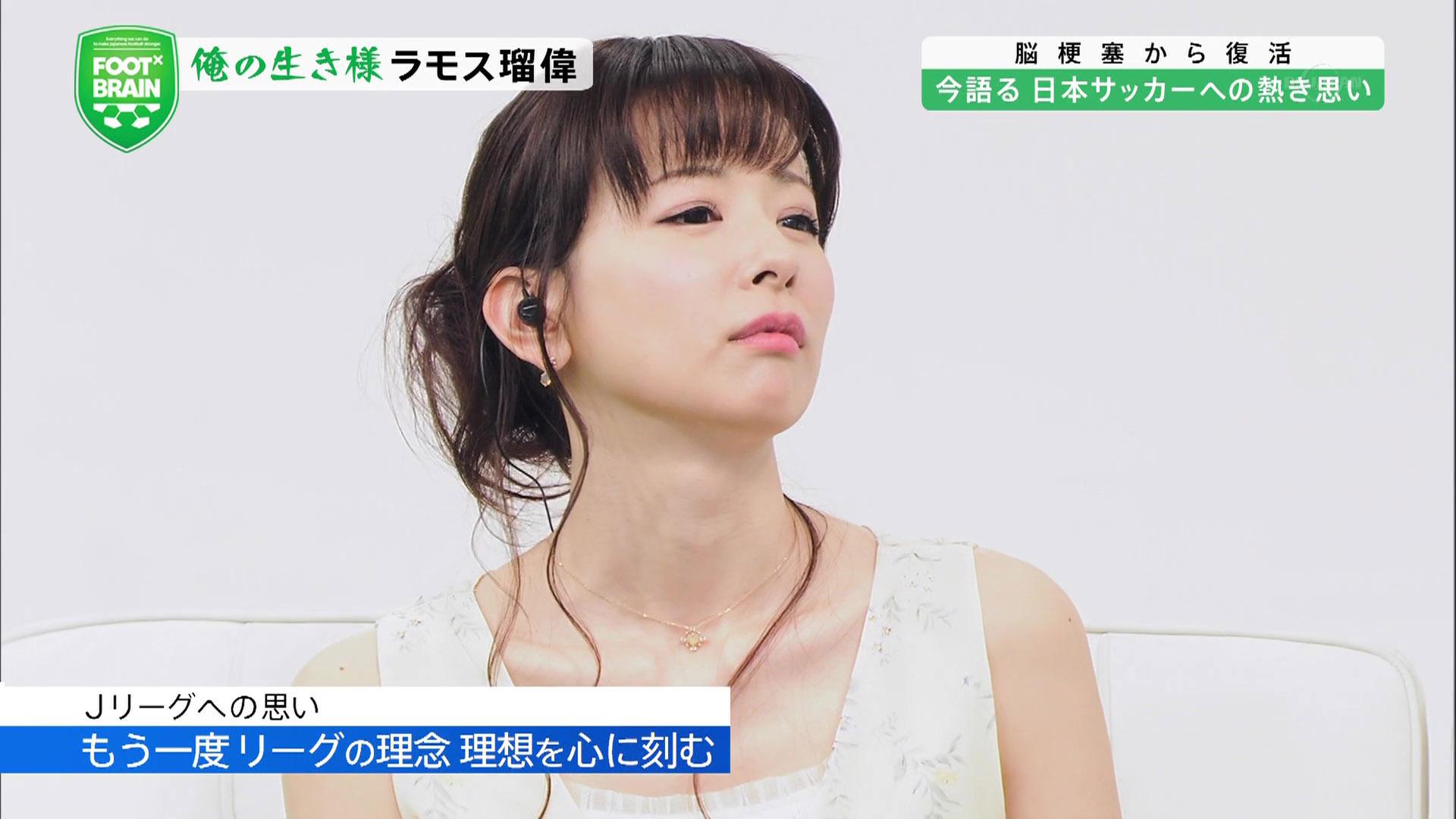 皆藤愛子アナ ノースリーブ FOOT×BRAIN