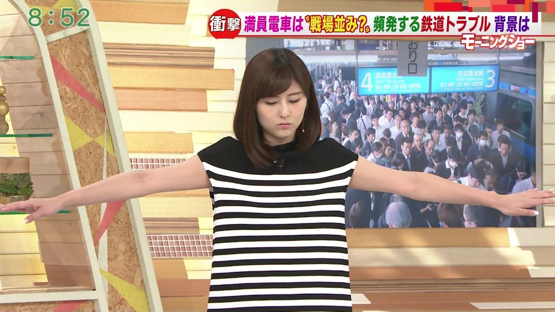 宇賀なつみアナ モーニングショー Qさま!!