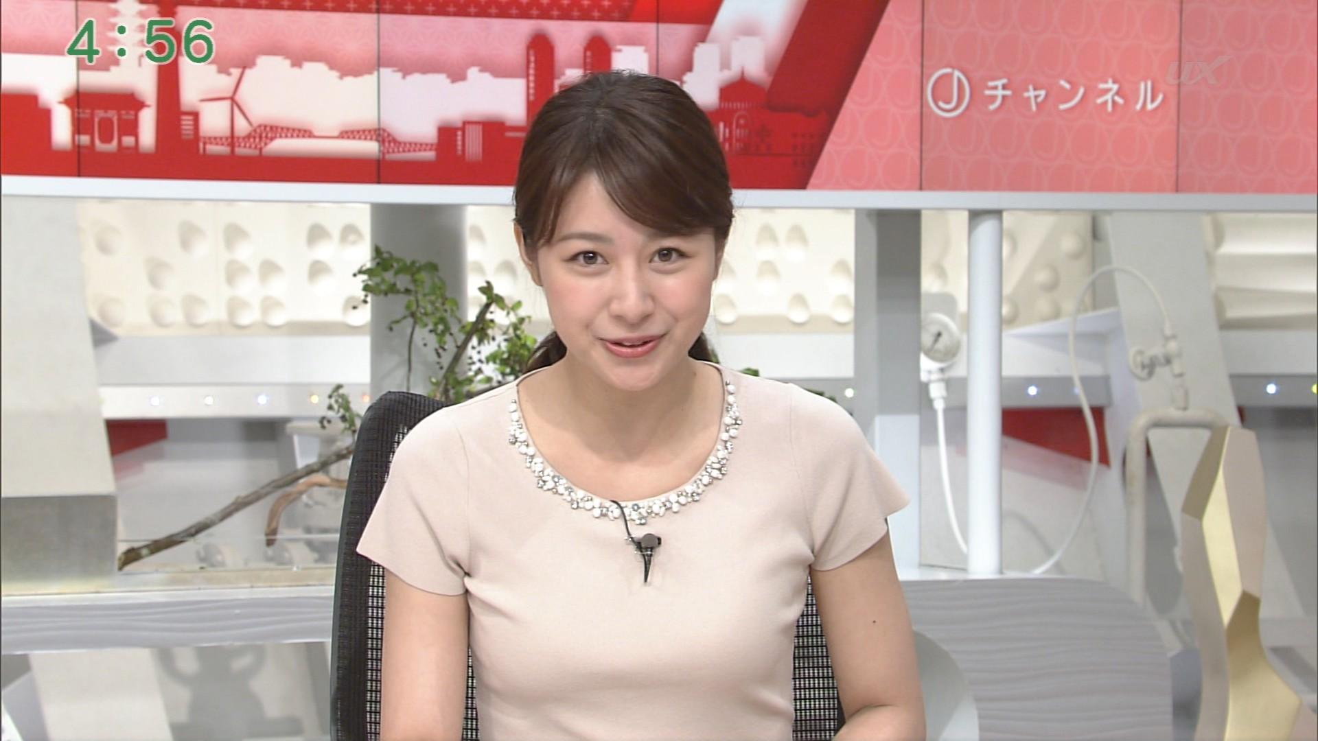 林美沙希アナ、おっぱい強調衣装! 竹内由恵アナ、ノースリーブ!