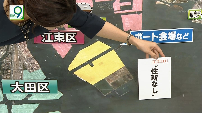 桑子真帆アナが、上からのアングルで撮られてブラチラ!!