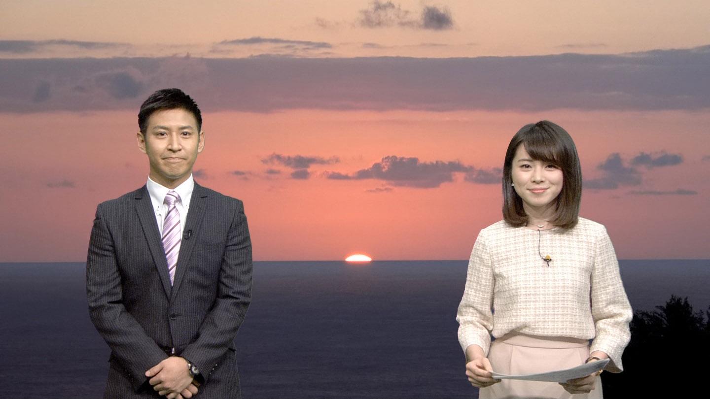 皆川玲奈アナ JNNニュース