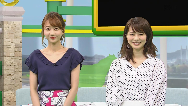 高見侑里アナと高田秋キャスター BSイレブン競馬中継 うまナビ!イレブン