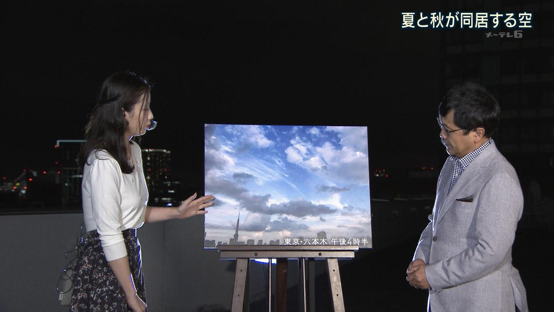 森川夕貴アナ 横乳!