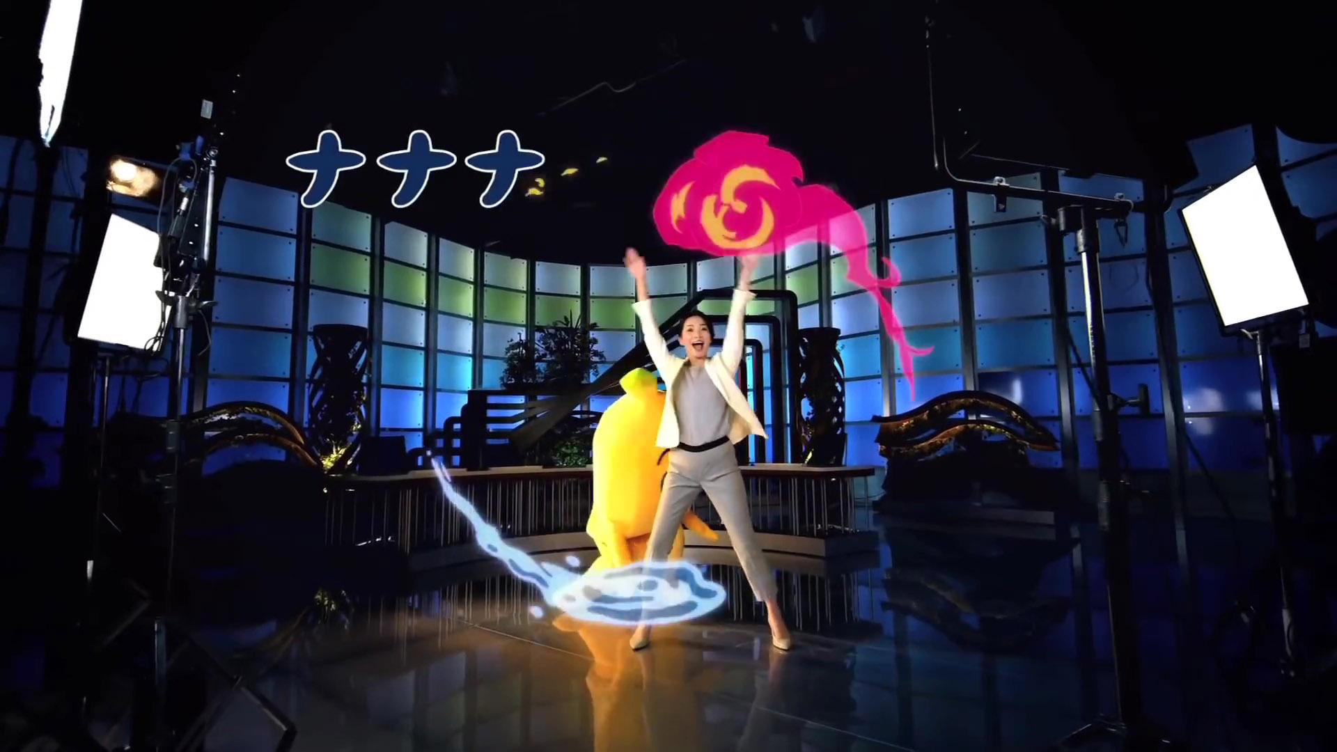 大江麻理子アナがナナナと踊る!
