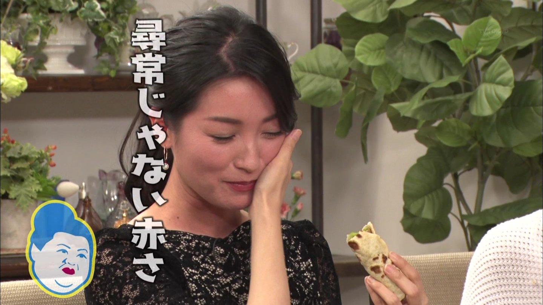 大江麻理子アナ 酔って真っ赤になる!