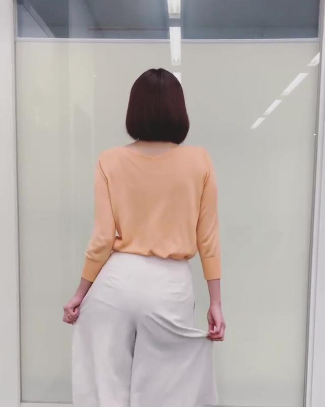 久冨慶子アナがインスタに尻振り動画をUP!!【GIF動画あり】