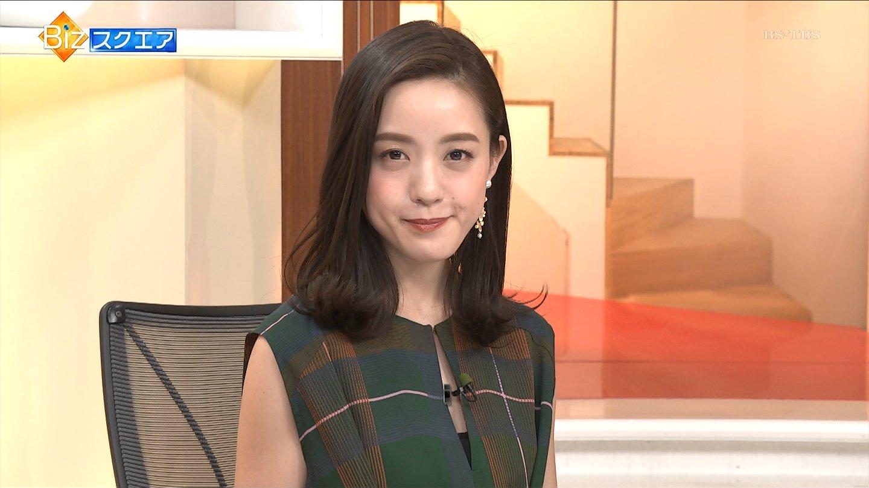 古谷有美アナ ノースリーブ & ニット!