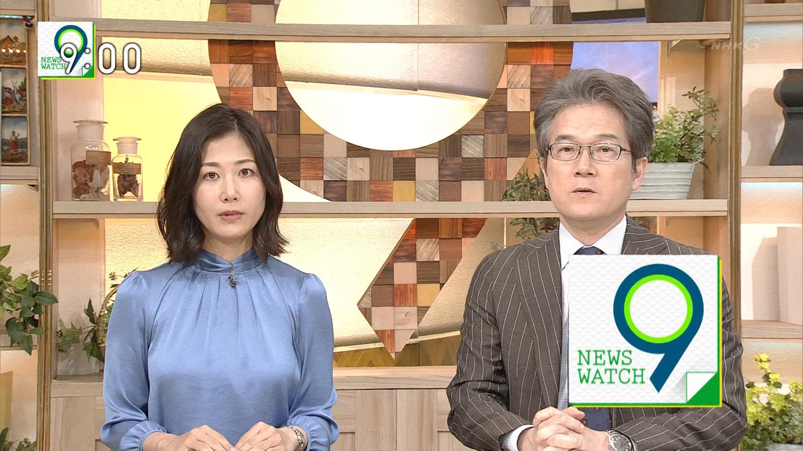 桑子真帆アナのロケットおっぱいがクッキリ!!